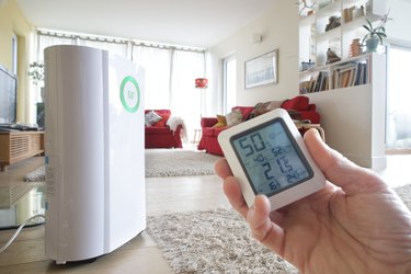 Dehumidifier and energy monitor in home