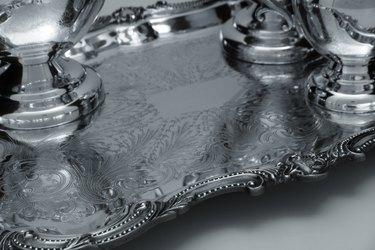 Silver Tea Set Tray