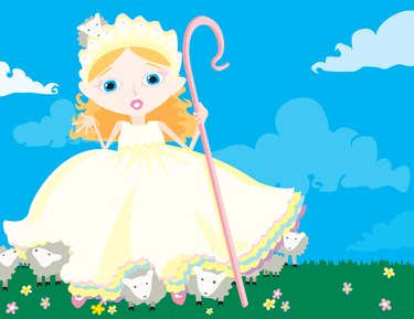 Little Bo Peep has Lost her Sheep!
