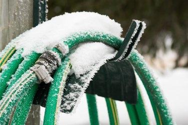 Frozen Garden Hose