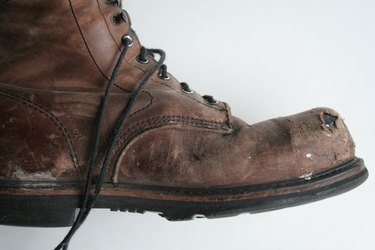 working boot - side view