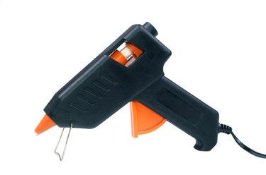 Hot glue gun isolated