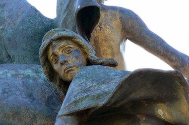 statue en bronze