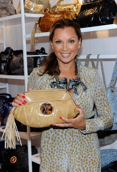 Vanessa Williams At MAGIC Clothing Industry Convention In Las Vegas