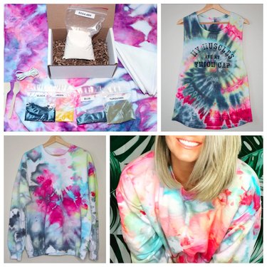 4 or 8 Colors Complete Ice Dye Kits by SharkBitesOfLife