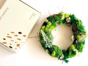 DIY Moss Fall Wreath Kit by NaturelyBox