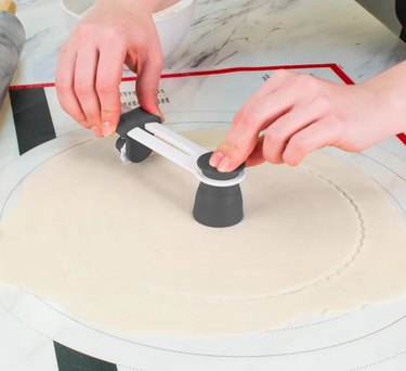 Tovolo Precision Pie Crust Cutter With Measurement Guide