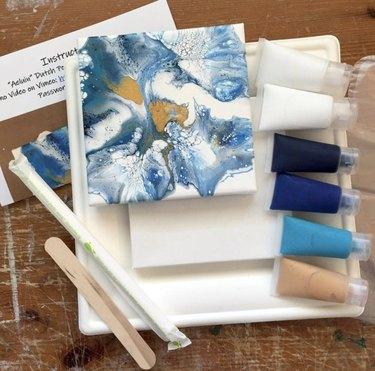 Acrylic Pour Paint Kit