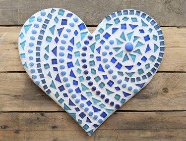 Heart Mosaic Image