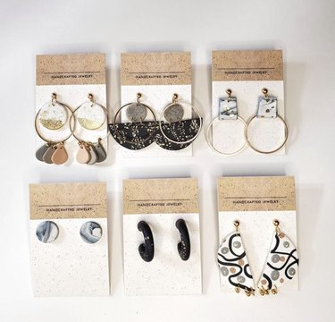 Clay Earrings Set Image