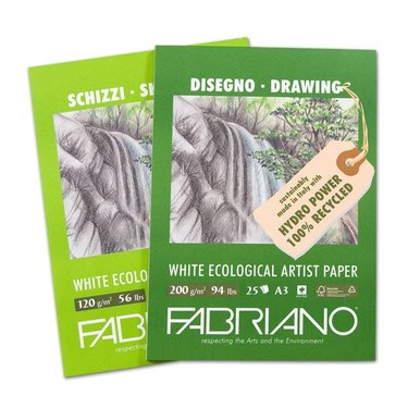 Fabriano eco-friendly drawing paper