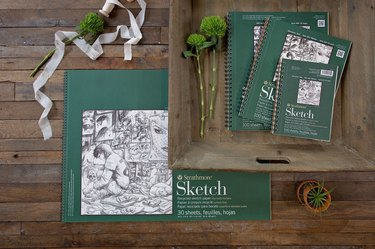 Strathmore recycled sketching paper
