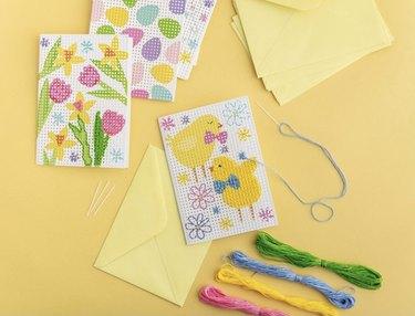 Easter Cross Stitch Kit
