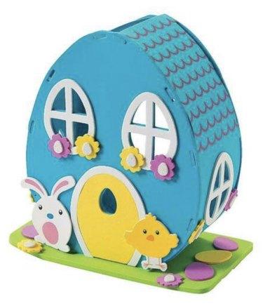 Blue Foam House Image