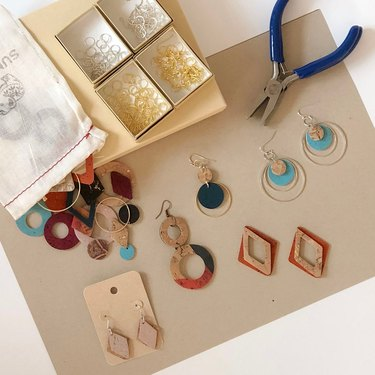 Eco friendly earring making kit