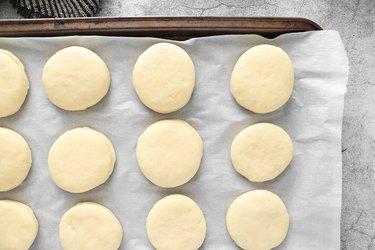 Let dough sit until doubled in size