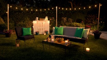 How to DIY Backyard String Lights Just in Time for Summer