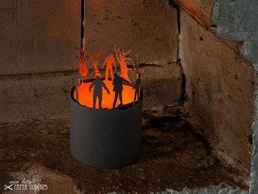 Zombies Paper Lantern Kit