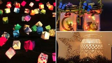 DIY lantern kits on Etsy