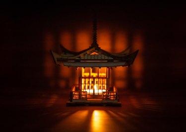 Laser Cut Japanese Pagoda Lantern Kit