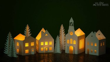 Village Lights Lantern Craft Kit
