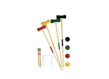 Wooden Croquet Set