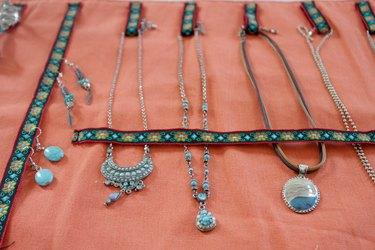 jewelry inside finished organizer