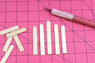 trim craft sticks