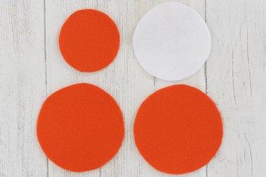 cut felt circles