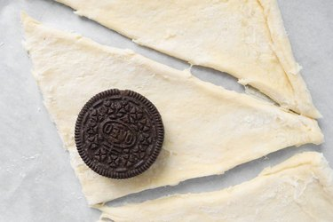 Oreo on dough