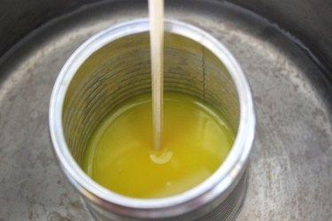 yellow wax