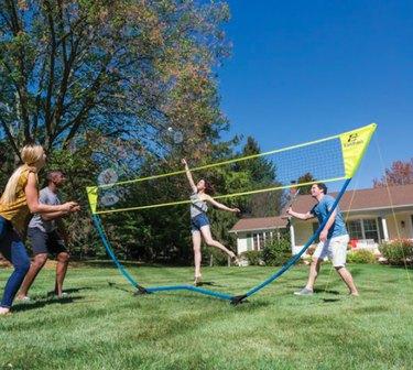 Outdoor badminton set