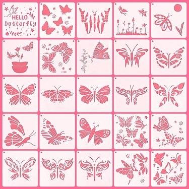 Butterfly Painting Stencils