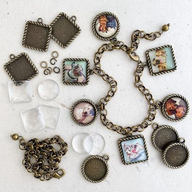 picture frame charm kit