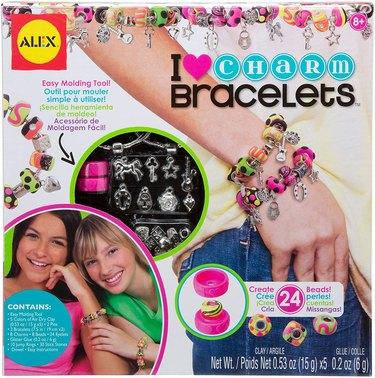 i heart charm bracelets kit