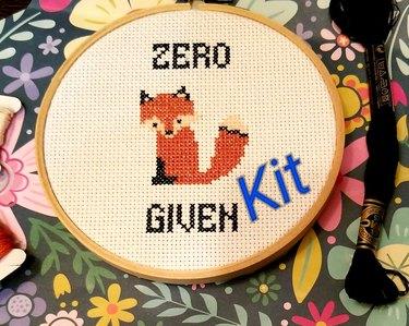Zero Fox Given Cross-Stitch Kit