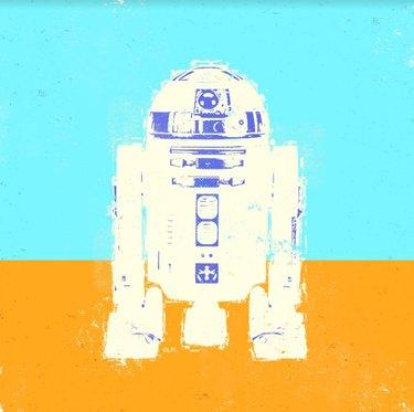 R2-D2 Star Wars fan art