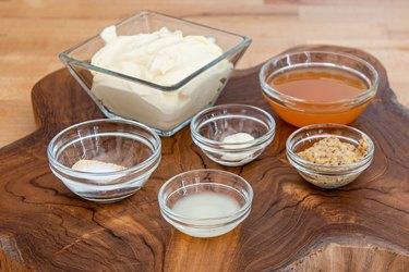 Ingredients for Alabama white BBQ sauce