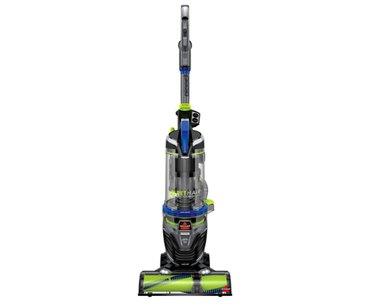 BISSELL Pet Hair Eraser Turbo Rewind Upright Vacuum Cleaner, 27909, Blue