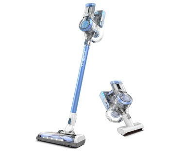 Tineco A11 Hero Cordless Lightweight Stick Vacuum Cleaner, 450W Motor for Ultra Powerful Suction