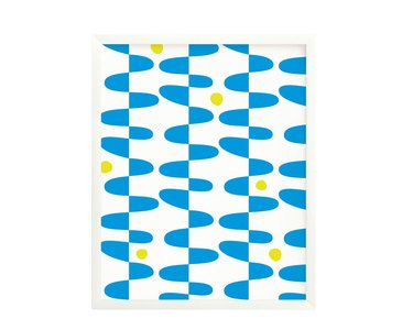 Squiggle Eggs Abstract Art Print