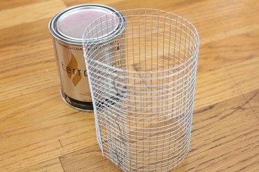 mesh cylinder