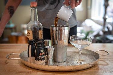 Adding espresso