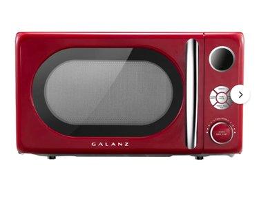 Galanz Retro 17.8'' 0.7 Cubic Feet cu. ft. Countertop Microwave