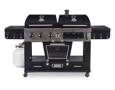 Pit Boss Memphis Ultimate 4-in-1 Gas & Charcoal Combo Grill With Smoker