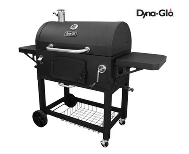 Dyna-Glo X-Large Heavy-Duty Charcoal Grill - 816 Square Inches Cooking Area
