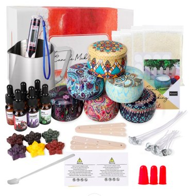 Manfiter DIY Candle Making Kit for Adults, Scented Candle Making Supplies Set