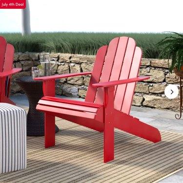 Selkirk Solid Wood Adirondack Chair