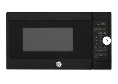 GE Appliances 17.3125'' 0.7 Cubic Feet cu. ft. Countertop Microwave (Black)