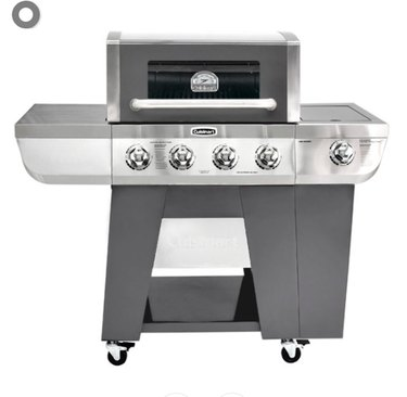 Cuisinart Deluxe Four-Burner Propane Gas Grill With Side Burner
